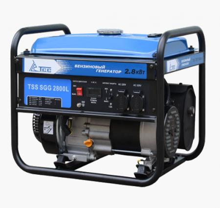 Бензогенератор SGG 2800L 2.8 кВт