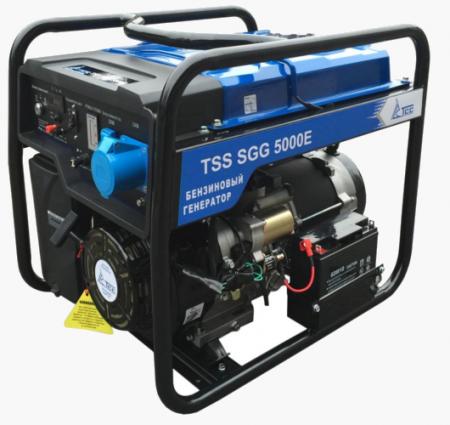 Бензогенератор SGG 5000E 5.5 кВт