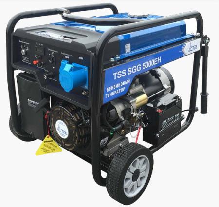 Бензогенератор SGG 5000EH 5.0 кВт