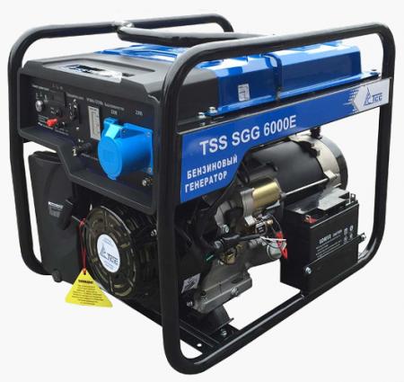 Бензогенератор SGG 6000E 6 кВт