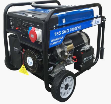 Бензогенератор SGG 7000 EH3 7.5 кВт