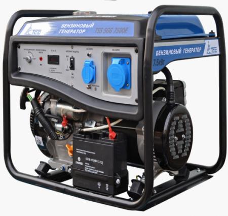 Бензогенератор SGG 7500Е 7.5 кВт