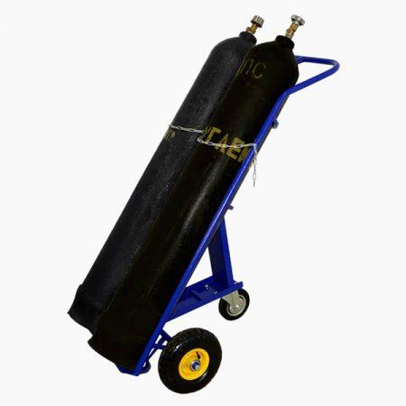 Тележка для перевозки двух газовых баллонов ГБ-2