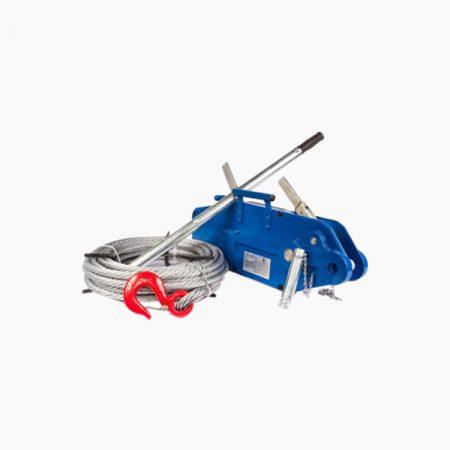 Лебедки ручные рычажные тросовые (механизмы тяговые монтажные гп 0,8 - 5,4 т)