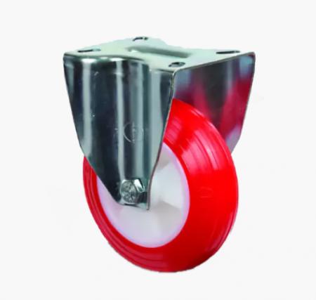 Неповоротное полиуретановое колесо