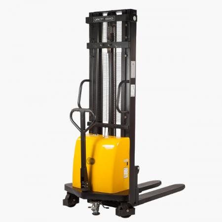 Штабелер гидравлический с электроподъемом 1т 1,6м DYC101