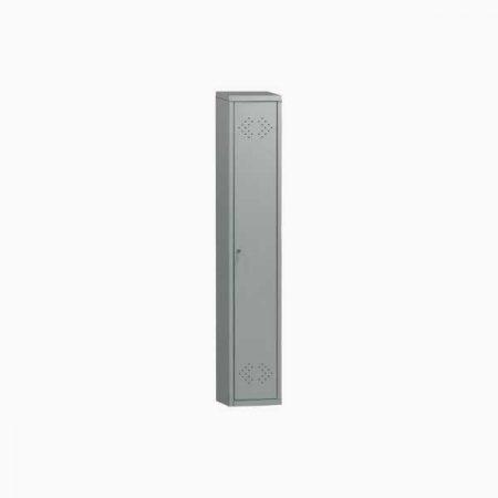 Металлический шкаф для раздевалки ПРАКТИК LS-01-40