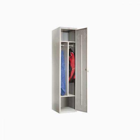 Металлический шкаф для раздевалки ПРАКТИК LS-11-40D