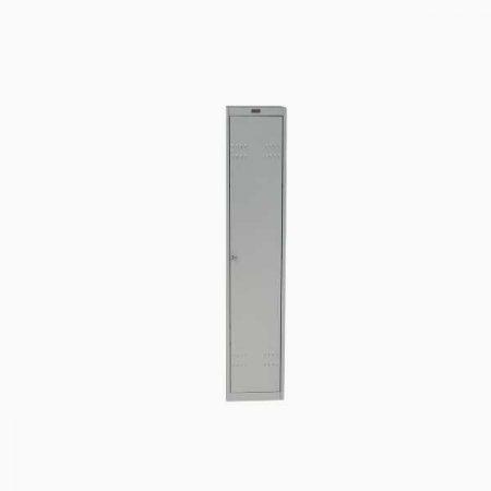Металлический шкаф для раздевалки ПРАКТИК AL-001 (приставная секция)