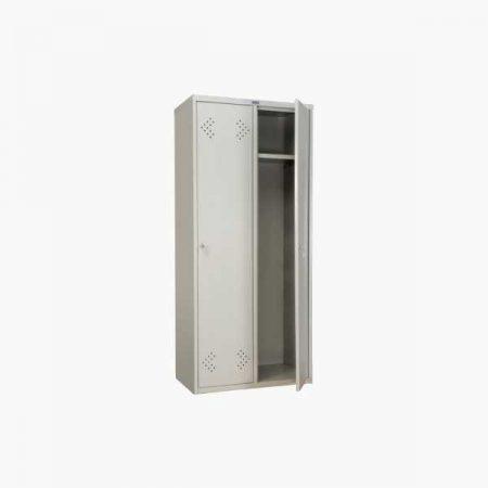 Металлический шкаф для раздевалки ПРАКТИК LS-21-80
