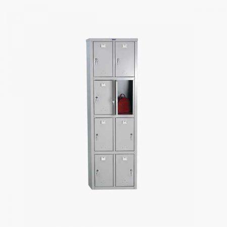 Металлический шкаф для раздевалки ПРАКТИК LS-24-50