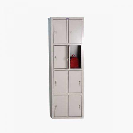Металлический шкаф для раздевалки ПРАКТИК LS-24