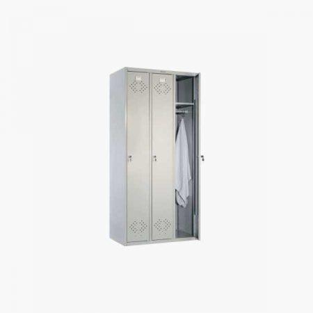 Металлический шкаф для раздевалки ПРАКТИК LS-31