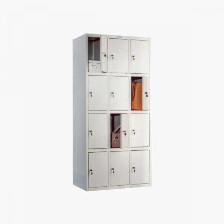 Металлический шкаф для раздевалки ПРАКТИК LS-34