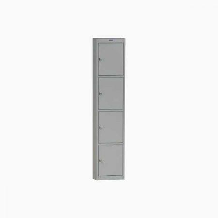 Металлический шкаф для раздевалки ПРАКТИК AL-04