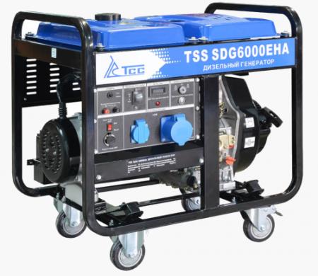 Дизель генератор SDG 6000EHA