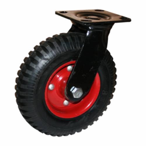 Колесо большегрузное обрезиненное поворотное PRS200